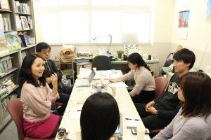関西学院大学の定藤教授の研究所にお邪魔しました